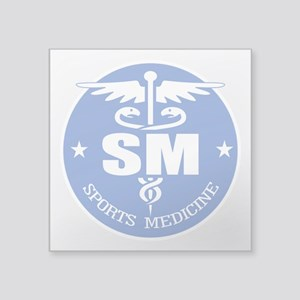 "Cad -Sports Medicine Square Sticker 3"" x 3"""