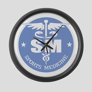 Cad -Sports Medicine Large Wall Clock