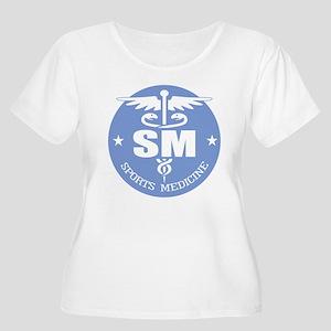 Cad -Sports M Women's Plus Size Scoop Neck T-Shirt