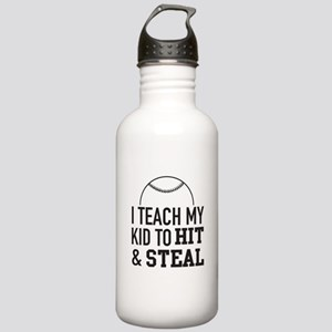 I Teach My Kid To Hit And Steal Water Bottle