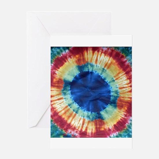 Tie Dye Design Greeting Cards