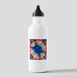 Tie Dye Design Water Bottle