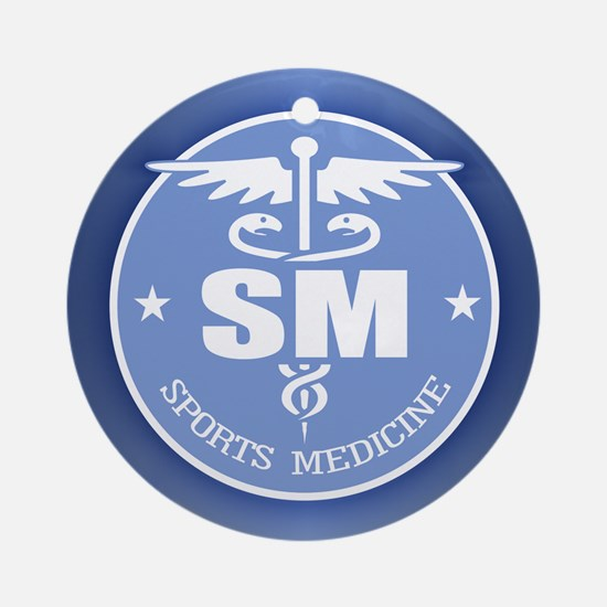 Cad -Sports Medicine Ornament (Round)