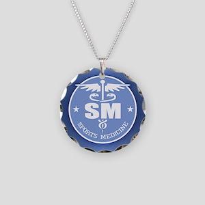 Cad -Sports Medicine Necklace Circle Charm