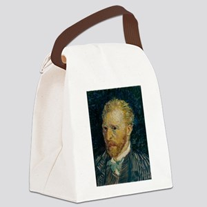 Vincent van Gogh selfie Canvas Lunch Bag