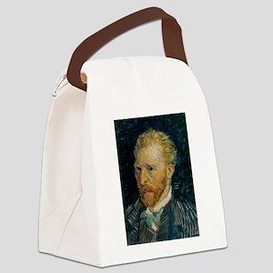 Vincent van Gogh selfie Canvas Lunch Bag