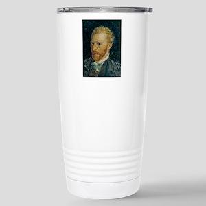 Vincent van Gogh selfie Stainless Steel Travel Mug