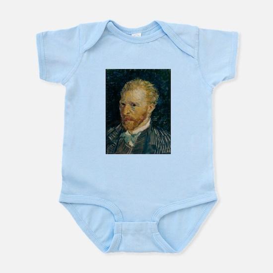 Vincent van Gogh selfie Infant Bodysuit