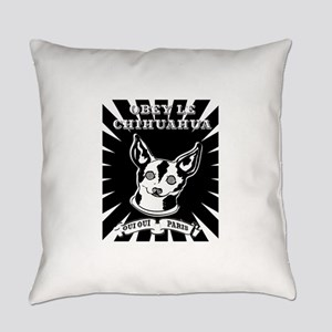 Obey Le Chihuahua Everyday Pillow