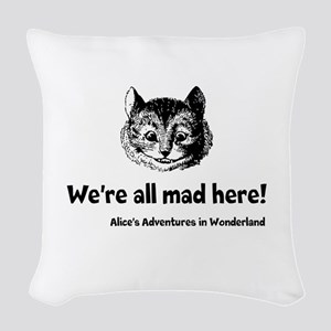 All Mad Woven Throw Pillow