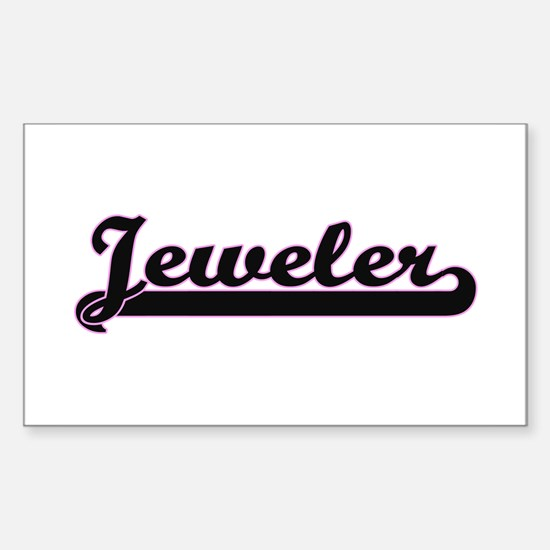 Jeweler Classic Job Design Decal