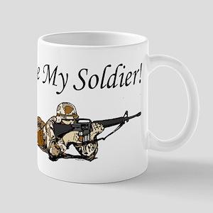 I love my soldier Army DCU's Mug