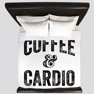 Coffee and Cardio King Duvet