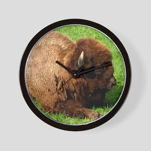 Northwest Buffalo Wall Clock