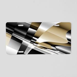 Siphon Aluminum License Plate