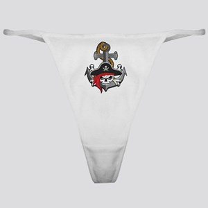 Pirate Skull Anchor Classic Thong