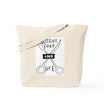 weave free Tote Bag
