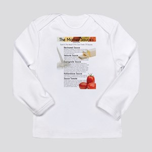 The Mother Sauces Long Sleeve T-Shirt