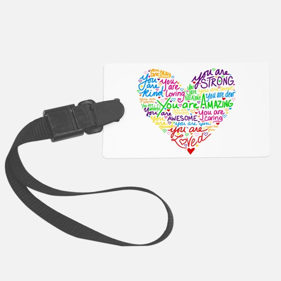You Are Loved Luggage Tag