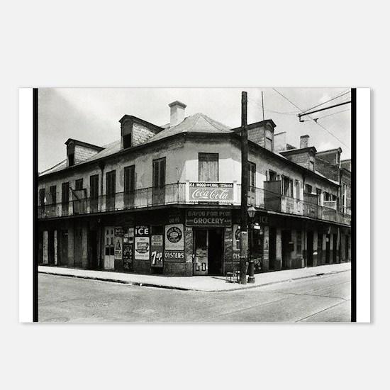 Bayou Pom Pom Grocery Postcards (Package of 8)