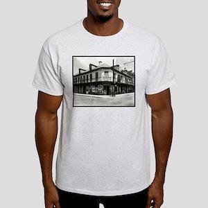 Bayou Pom Pom Grocery Ash Grey T-Shirt