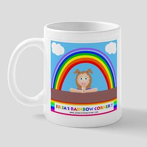 Julia's Rainbow Corner Classi Mug