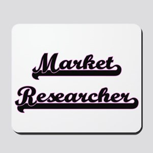 Market Researcher Classic Job Design Mousepad