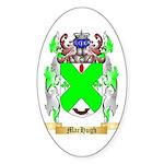 MacHugh Sticker (Oval 50 pk)