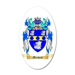Machent 20x12 Oval Wall Decal
