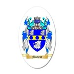 Machent 35x21 Oval Wall Decal