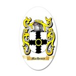 MacHenry 35x21 Oval Wall Decal