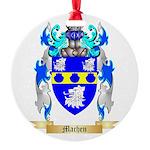 Machen Round Ornament