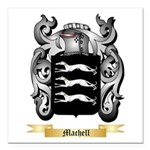 Machell Square Car Magnet 3