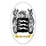 Machell Sticker (Oval 50 pk)