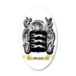 Machell 20x12 Oval Wall Decal