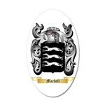 Machell 35x21 Oval Wall Decal