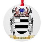 Machaut Round Ornament