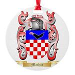 Machar Round Ornament