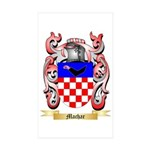 Machar Sticker (Rectangle 50 pk)