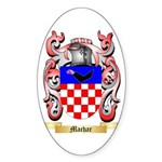 Machar Sticker (Oval 50 pk)
