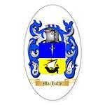 MacHaffy Sticker (Oval 10 pk)