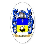 MacHaffy Sticker (Oval 50 pk)