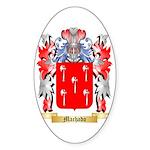 Machado Sticker (Oval 50 pk)
