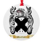 MacGurl Round Ornament