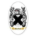 MacGurl Sticker (Oval 10 pk)