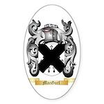 MacGurl Sticker (Oval 50 pk)