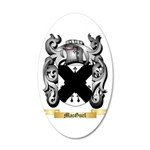 MacGurl 20x12 Oval Wall Decal