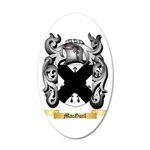 MacGurl 35x21 Oval Wall Decal