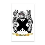 MacGurl 35x21 Wall Decal