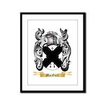 MacGurl Framed Panel Print